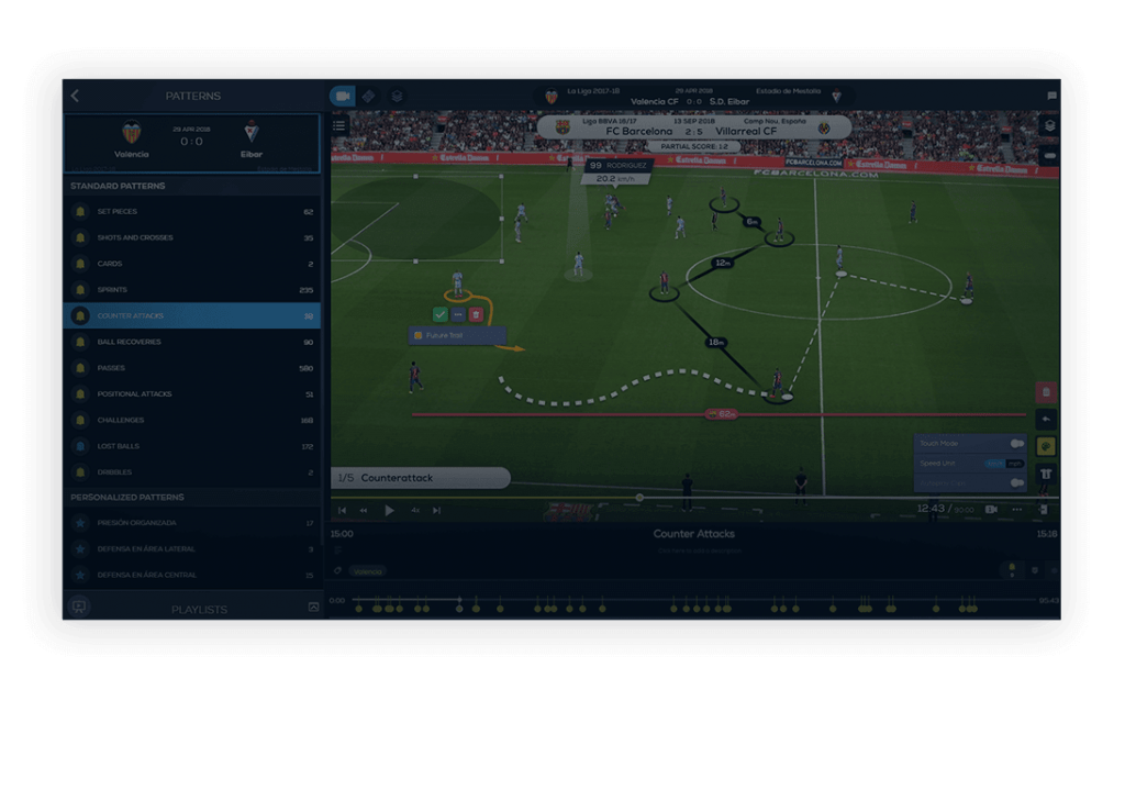 Metrica Play Pro - Enhance player visualizations with player